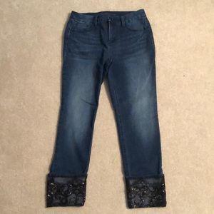 Chico's So Slimming Girlfriend Ankle Jean size 00